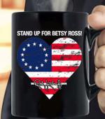 Rush Betsy Ross 1776 Limbaugh Gift Coffee Mug - White Mug