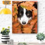 Border Collie Dog Canvas Prints Wall Art - Matte Canvas