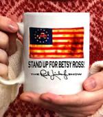Rush Betsy Ross 1776 Limbaugh Coffee Mug - White Mug