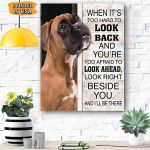 Boxer Dog Canvas Prints Wall Art - Matte Canvas