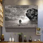 Black Labrador Dog Canvas Prints Wall Art - Matte Canvas