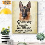 German Dog Canvas Prints Wall Art - Matte Canvas