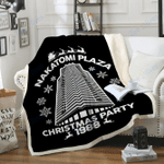 Custom Blankets Nakatomi-Plaza Christmas Blanket - Fleece Blanket