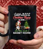 Basset Hound Dog Coffee Mug - Black Mug