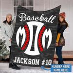 Custom Blankets Basketball Personalized Blanket - Fleece Blanket