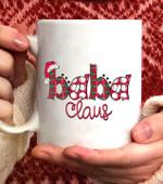 BABA Claus Christmas Coffee Mug - White Mug