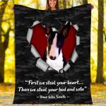 Custom Blankets Wes Smith Dog Blanket - Fleece Blanket