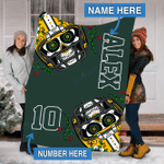 Custom Blankets Green Bay Football Personalized Blanket - Fleece Blanket