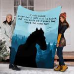 Custom Blankets Horse Blanket - Fleece Blanket