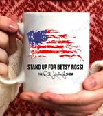 Rush Betsy Ross 1776 Limbaugh Gift Coffee Mug - White Mug