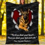 Custom Blankets German Shepherd Dog Blanket - Fleece Blanket