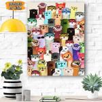 Otter Canvas Prints Wall Art - Matte Canvas