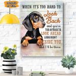 Dachshund Dog Canvas Prints Wall Art - Matte Canvas
