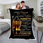 Custom Blankets Can't Live Without You Blanket - Fleece Blanket