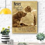 Golden Retriever Dog Canvas Prints Wall Art - Matte Canvas