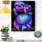 Sloth Canvas Prints Wall Art - Matte Canvas