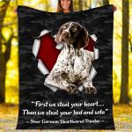 Custom Blankets German Shorthaired Pointer Dog Blanket - Fleece Blanket