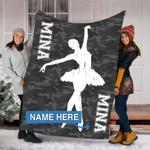 Custom Blankets Ballet Personalized Blanket - Fleece Blanket