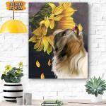 Yorkshire Terrier Dog Canvas Prints Wall Art - Matte Canvas - Matte Canvas