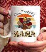 One Thankful Nana- 11oz White coffee Mug