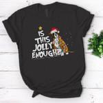Is this jolly enough Boxer Christmas T-Shirt Boxer Dog Christmas Shirt Gift - Standard Women's T-shirt
