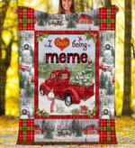 Custom Blankets - Meme Christmas Blanket Xmas - Fleece Blanket