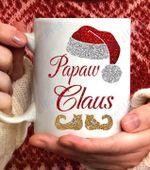 Papaw Claus Christmas Coffee Mug - 11oz White Mug
