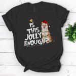 Is this jolly enough Shiba Inu Christmas T-Shirt - Standard Women's T-shirt