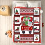 Custom Blankets - Momma Claus Christmas Blanket - Fleece Blankets