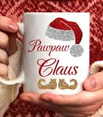 Pawpaw Claus Christmas Coffee Mug - 11oz White Mug