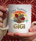One Thankful Mimi - 11oz White coffee Mug