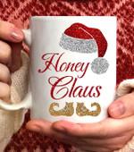 Honey Claus Christmas Coffee Mug - 11oz White Mug