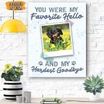 Dog Custom Photo Canvas Personalized - Matte Canvas