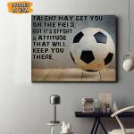 Soccer Canvas Prints Wall Art - Matte Canvas