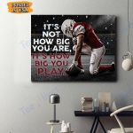 Football Canvas Prints Wall Art - Matte Canvas