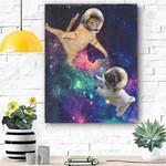 Pug Dog Canvas Prints Wall Art - Matte Canvas