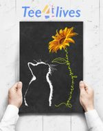 Custom Poster Prints Wall Art Cat You Are My Sunshine Cats Gifts