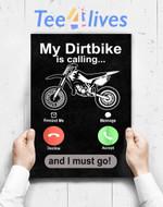 Custom Poster Prints Wall Art Off Road Motocross Dirt Bike Dirtbike Riders Brap