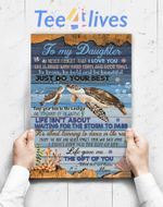 Custom Poster Prints Wall Art Mom To Daughter