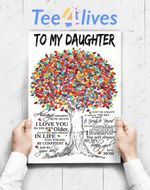 Custom Poster Prints Wall Art Mom To Daughter