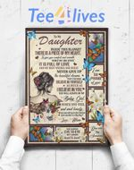 Custom Poster Prints Wall Art Special Gift For Daughter