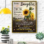 Gift For Daughter Canvas Prints Wall Art - Matte Canvas