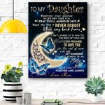 Special Gift For Daughter Canvas Prints Wall Art - Matte Canvas
