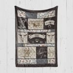 Custom Blanket Personalized Western Cowboy Rodeo Baby Blanket - Gift For Boys
