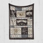 Custom Blanket Personalized Western Cowboy Rodeo Baby Blanket - Gift For Boys - Quilt Blanket