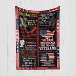 Custom Blanket Female Veteran 2 - Quilt Blanket