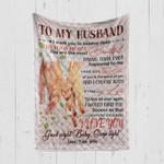 Custom Blanket To My Husband Blanket - Quilt Blanket