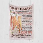 Custom Blanket To My Husband Blanket