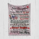 Custom Blanket To My Daughter Blanket - Quilt Blanket