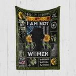 Custom Blanket Veteran Walked The Walk - Quilt Blanket